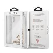 GUHCI61GLHFLGO Guess New Glitter Hearts Pouzdro pro iPhone XR Gold