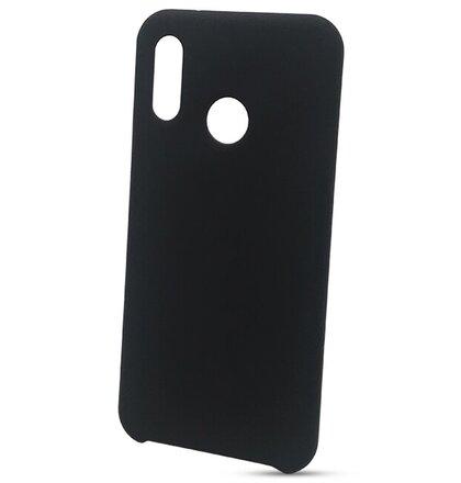 Puzdro Liquid TPU Huawei P20 Lite - čierne