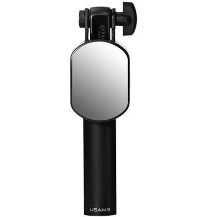 USAMS Selfie Stick Mini Mirror (zrkadlo) 3,5mm - čierna