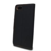 Puzdro Canvas Book iPhone 7/8 - čierne