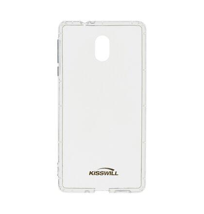 Kisswill TPU Pouzdro Transparent pro Nokia 5.1 Plus
