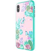 Nillkin Floral Hard Case Green pro iPhone XS Max