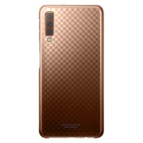 EF-AA750CFE Samsung Gradation Case Gold pro Galaxy A7 2018