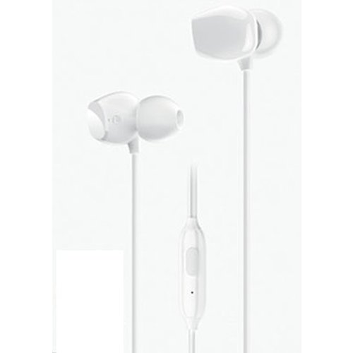 USAMS EP-28 Stereo slúchadlá Biele