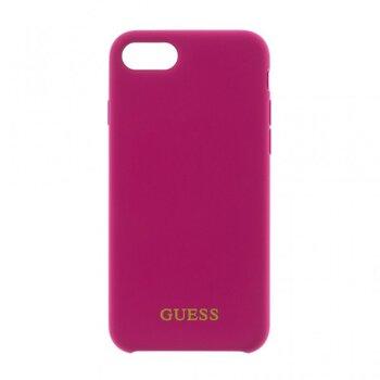 GUHCI8LLSGLPI Guess Silicone Logo TPU Case Pink pro iPhone 7/8 Plus
