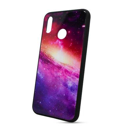 Puzdro Glass TPU Huawei P20 Lite - galaxia