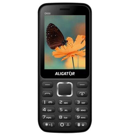 Aligator D930 Dual SIM, Čierny