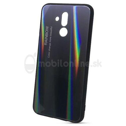 Puzdro Rainbow Glass TPU Xiaomi Redmi Note 6 Pro - čierne