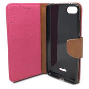 Puzdro Canvas Book Xiaomi Redmi 6A - ružové
