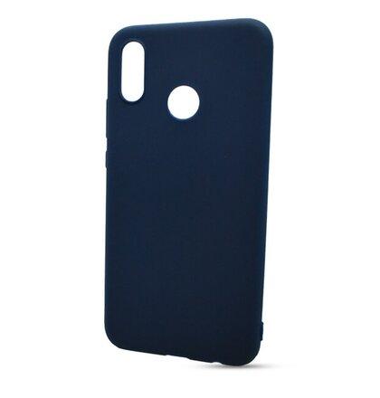 Puzdro Soft Magnet TPU Huawei P20 Lite - tmavo-modré