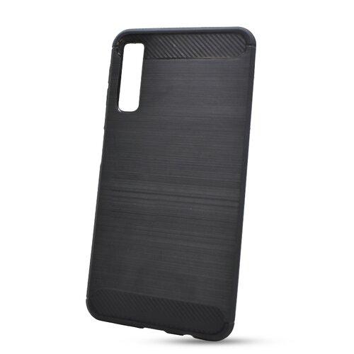 Puzdro Carbon Lux TPU Samsung Galaxy A7 A750 - čierne