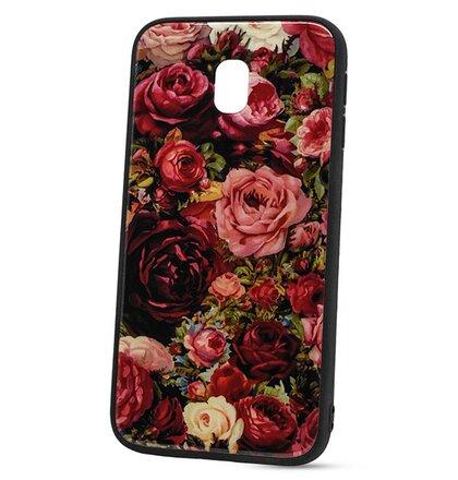 Puzdro Glass Hard TPU Samsung Galaxy J5 J530 - ruže