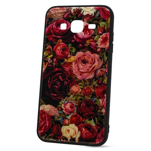 Puzdro Glass Hard TPU Samsung Galaxy J3 J320 2016 - ruže
