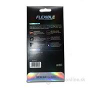 Tvrdené sklo Flexi Nano 5D Huawei P20 Lite celotvárové - čierne