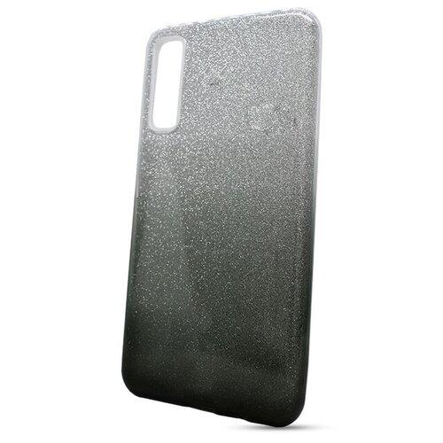Puzdro 3in1 Shimmer TPU Samsung Galaxy A7 A750 - strieborno-čierne