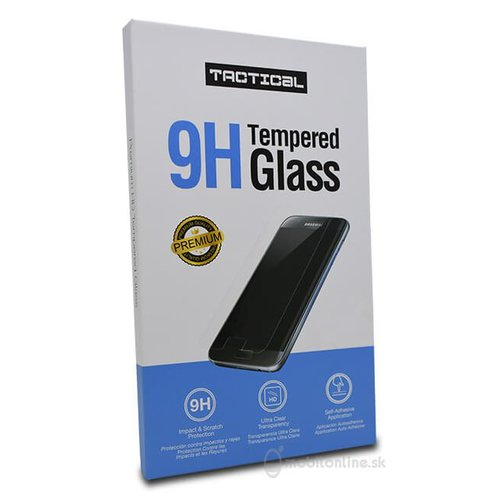Ochranné sklo Tacitcal 2.5D 9H Nokia 3.1 celotvárové - čierne