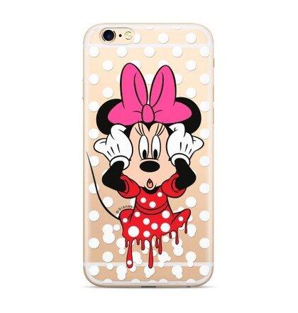 Disney Minnie 016 Back Cover Transparent pro Huawei P20 Lite