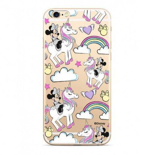 Disney Minnie 037 TPU Back Cover Transparent pro iPhone 5/5S/SE