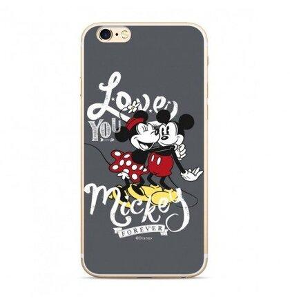 Disney Mickey & Minnie 001 Back Cover Gray pro Xiaomi Redmi 6/6A