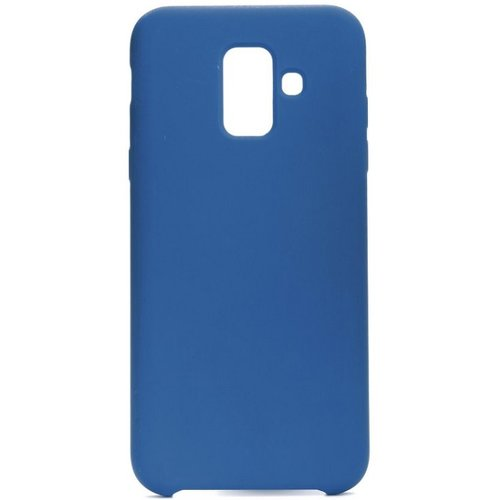 Puzdro Liquid TPU Samsung Galaxy A6 A600 - tmavo-modré