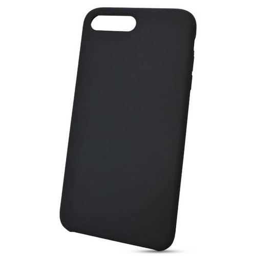 Puzdro Liquid TPU iPhone 7 Plus/8 Plus - čierne