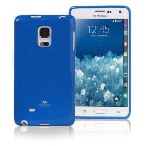 Puzdro Mercury Jell TPU Samsung Galaxy Note 4 N910 - modré