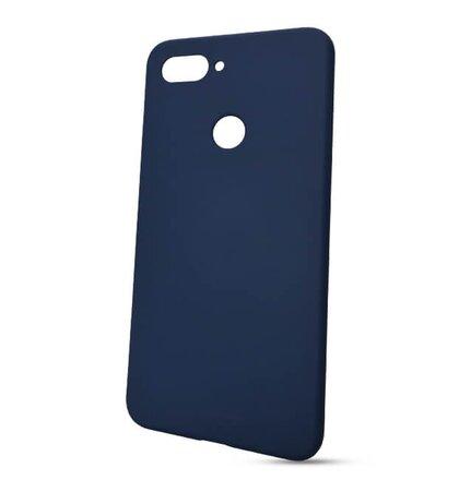 Puzdro Soft Feeling TPU Xiaomi Mi 8 Lite - modré