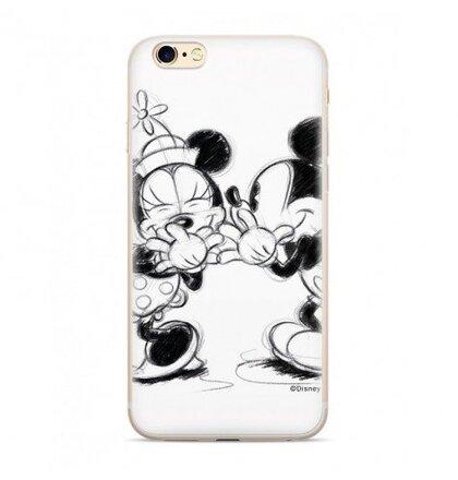 Disney Mickey & Minnie 010 Back Cover White pro Xiaomi Redmi 6/6A