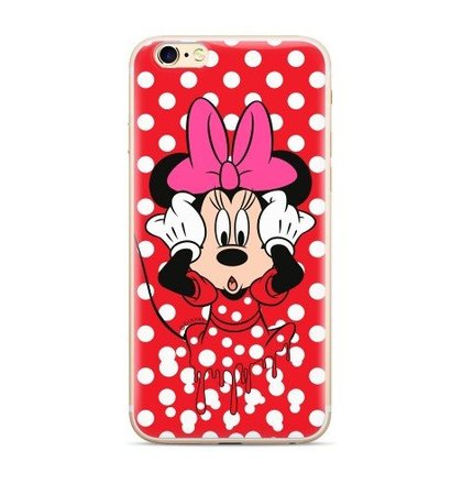 Disney Minnie 016 Back Cover Red pro Huawei P20 Lite