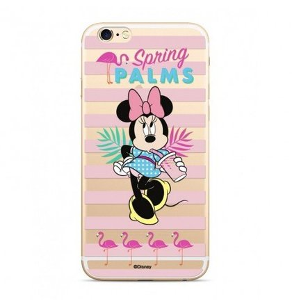 Disney Minnie 028 Back Cover Transparent pro iPhone XS Max