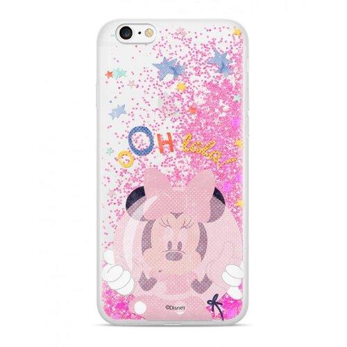 Puzdro Disney Shimmer Design TPU iPhone XR Minnie 046 - ružové
