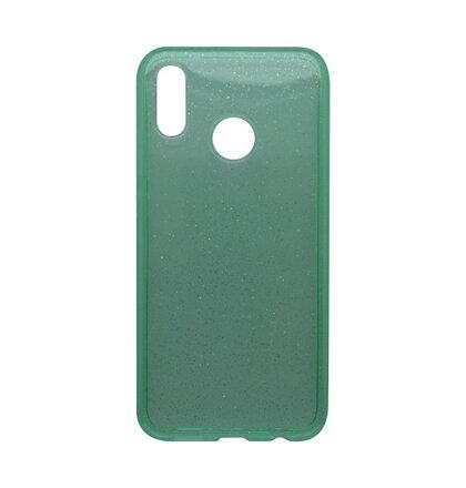 Silikónové puzdro Crystal Huawei P20 Lite zelené