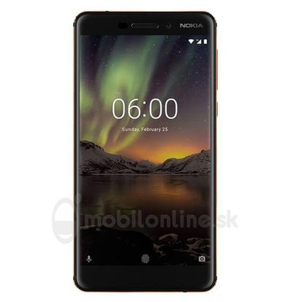 Nokia 6.1 3GB/32GB Dual SIM Black/ Copper
