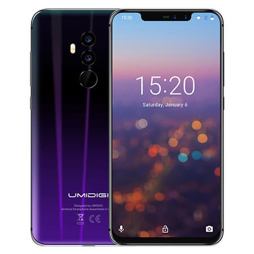 Umidigi Z2 6GB/64GB Dual SIM, Twilight Black