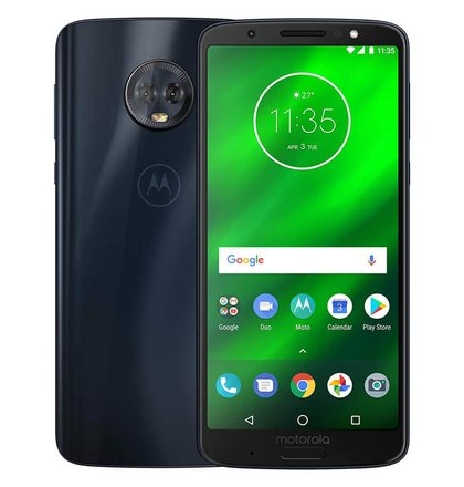 Motorola Moto G6 Plus 4GB/64GB Single SIM Modrý