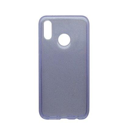 Silikónové puzdro Crystal Huawei P20 Lite fialové