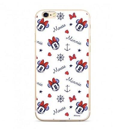 Disney Minnie 007 Back Cover White pro Xiaomi Redmi 6/6A