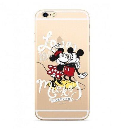 Disney Mickey & Minnie 001 Back Cover Transparent pro Xiaomi Redmi 6/6A