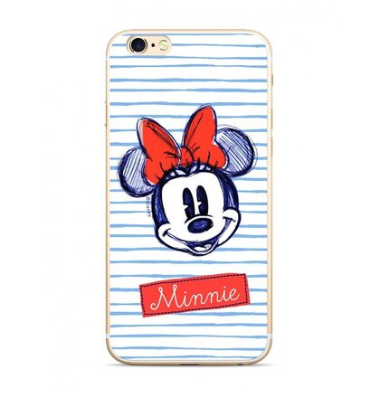 Disney Minnie 011 Back Cover White pro Huawei P20 Lite