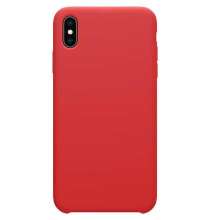 Nillkin Flex Pure Liquid Silikonové Pouzdro Red pro iPhone XS Max