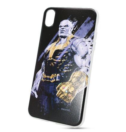 Puzdro Marvel TPU iPhone XR Thanos vzor 003 (licencia)
