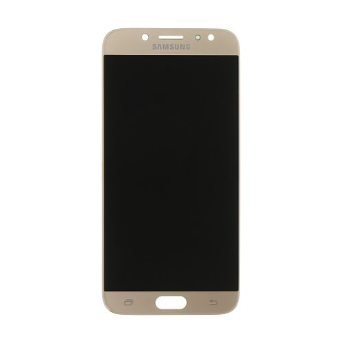 Samsung J730 Galaxy J7 2017 - LCD Displej + Dotyková Plocha - Zlatý (Service Pack)