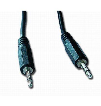 Kabel prípojný jack 3,5mm M/M, 5m, audio