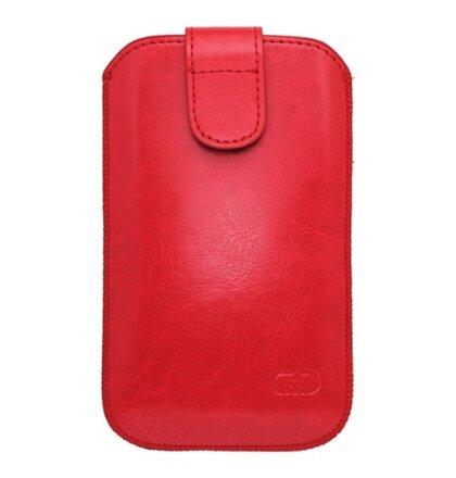 Koženkové puzdro XL, červené
