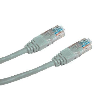 OEM patch kábel Cat5E, UTP - 3m , šedý