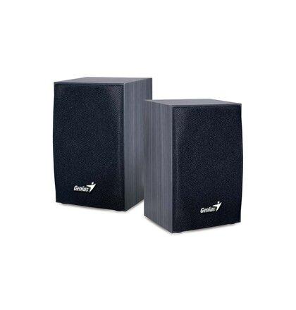 Speaker GENIUS SP-HF160 wooden SPK 2WX2 USB, black