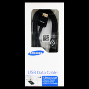 ET-DQ11Y1 Samsung Galaxy Note3 Datový Kabel Black 1,5m