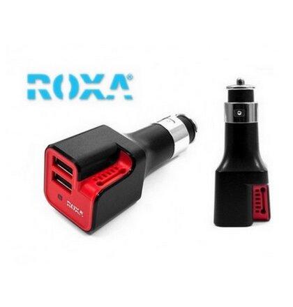 Roxa autodobíjač 3v1 2xUSB + ozónovač