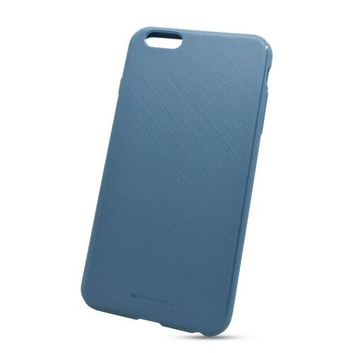 Puzdro Mercury Style Lux TPU iPhone 6 Plus/6S Plus - modré