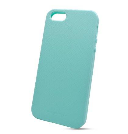 Puzdro Mercury Style Lux TPU iPhone 5 5S SE - nebesky modré 199bbe70b26